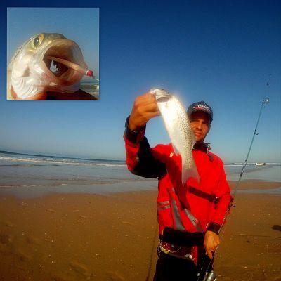 Jose Acosta pesca con Kurrican