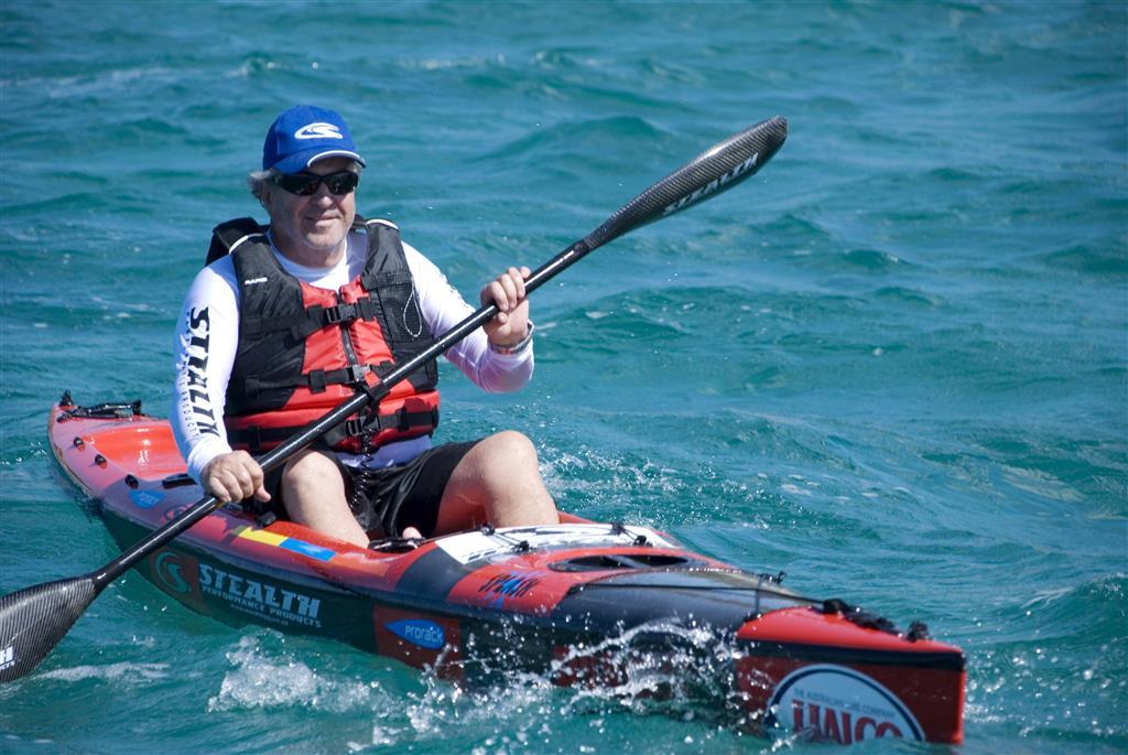 Bruce Challenor, fundador de Stealth Kayaks