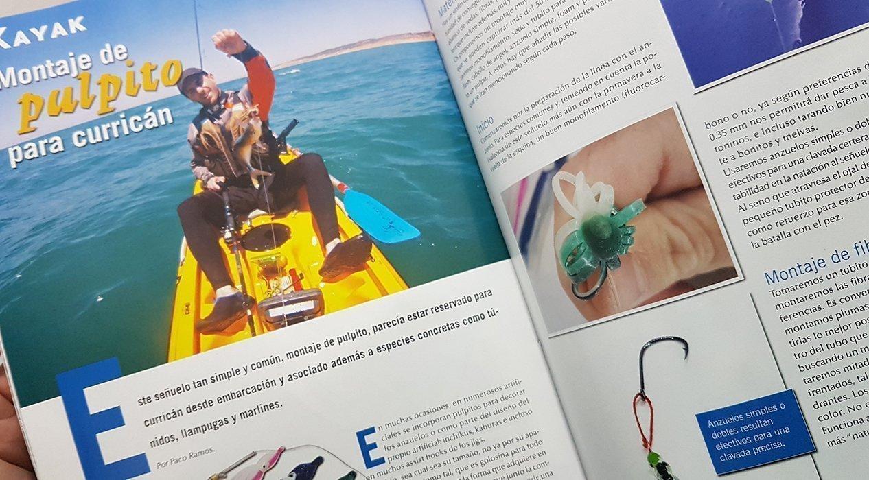 Extracto del artículo en la revista Pesca A Bordo.