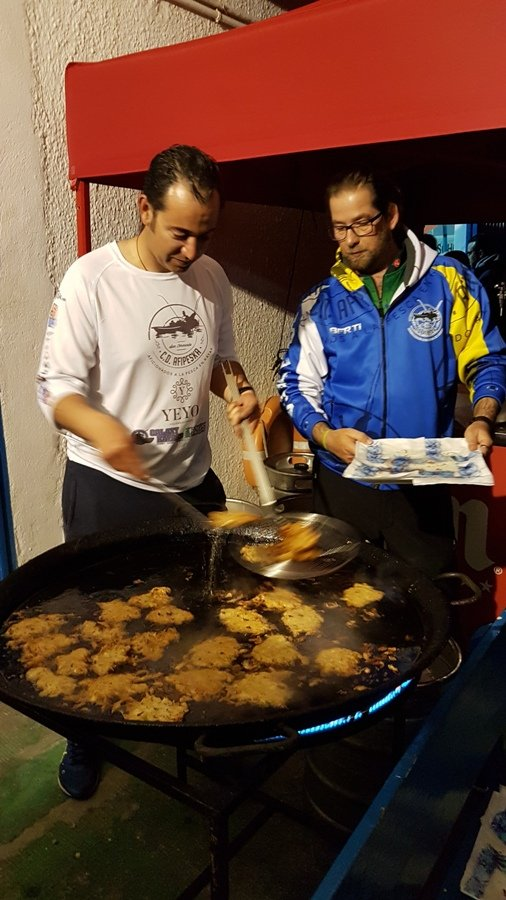 Tortillitas de camarones cortesía de Afipeska.