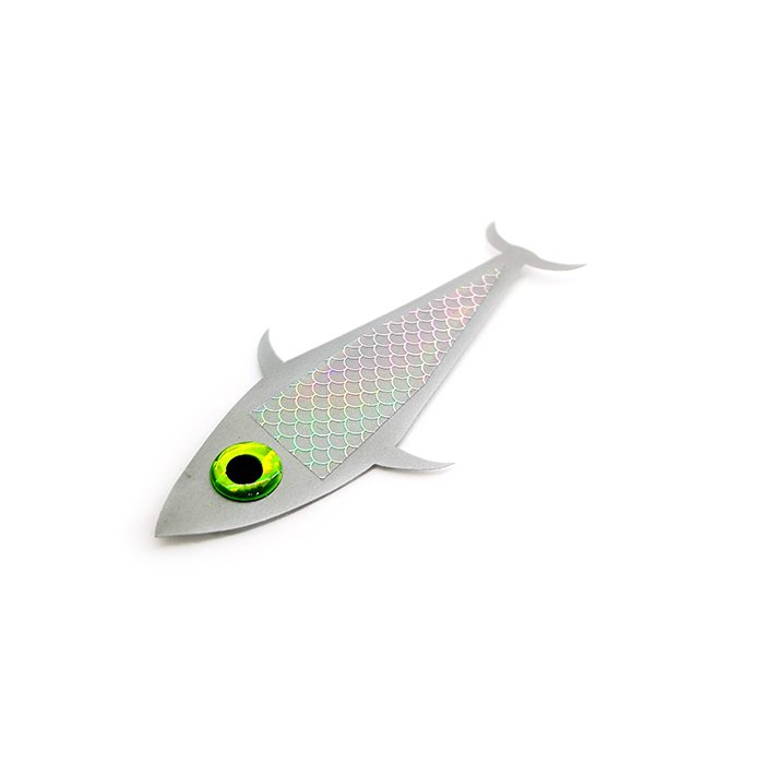 Detalle de silueta de pez