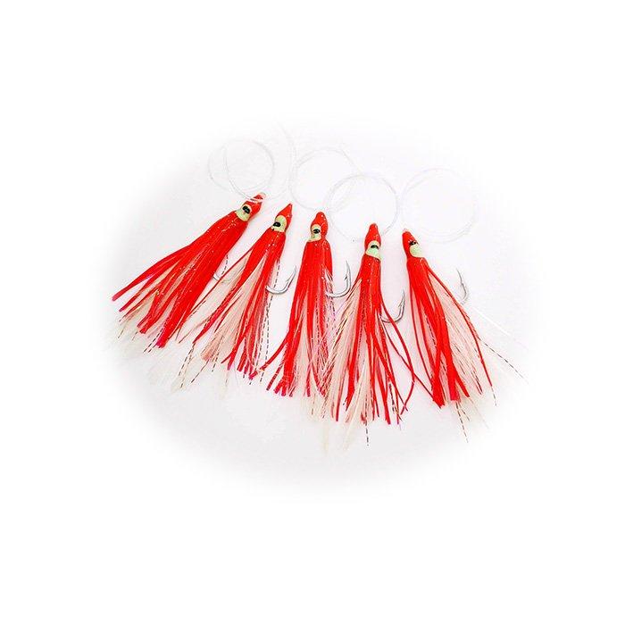 Pulpos Daisy Chain rojo