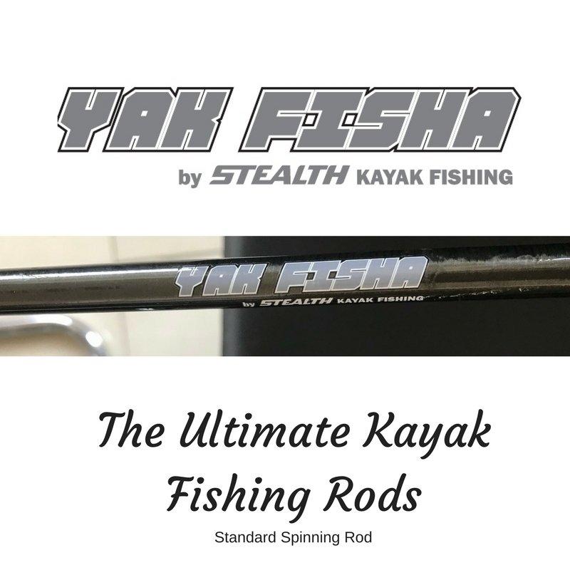 Caña de pescar a spinning Yak Fisha